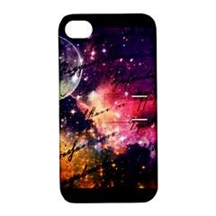 Letter From Outer Space Apple Iphone 4/4s Hardshell Case With Stand