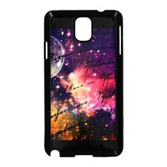 Letter From Outer Space Samsung Galaxy Note 3 Neo Hardshell Case (black)