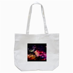 Letter From Outer Space Tote Bag (white)