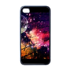 Letter From Outer Space Apple Iphone 4 Case (black)