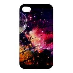 Letter From Outer Space Apple Iphone 4/4s Hardshell Case