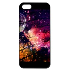 Letter From Outer Space Apple Iphone 5 Seamless Case (black)