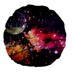 Letter From Outer Space Large 18  Premium Round Cushions