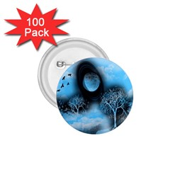 Space River 1 75  Buttons (100 Pack)