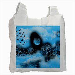 Space River Recycle Bag (two Side)