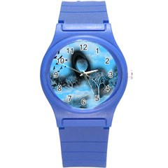 Space River Round Plastic Sport Watch (s)