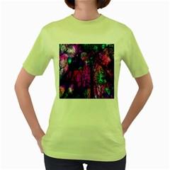 Magic Forest Women s Green T Shirt