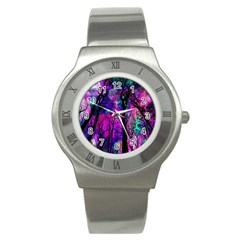 Magic Forest Stainless Steel Watch