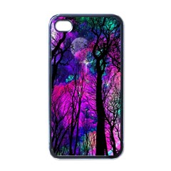 Magic Forest Apple Iphone 4 Case (black)