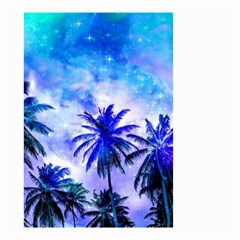Summer Night Dream Small Garden Flag (two Sides)