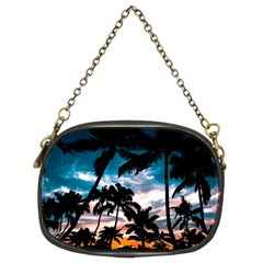 Palm Trees Summer Dream Chain Purses (two Sides)