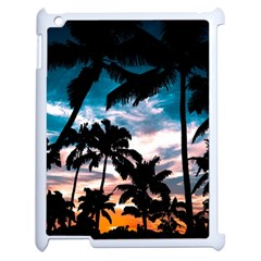 Palm Trees Summer Dream Apple Ipad 2 Case (white)