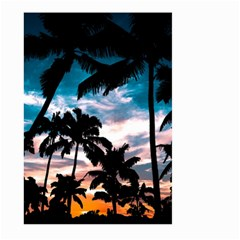 Palm Trees Summer Dream Large Garden Flag (two Sides)