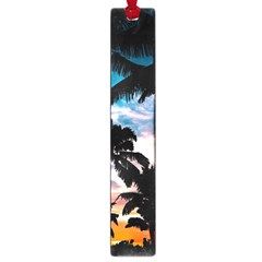 Palm Trees Summer Dream Large Book Marks