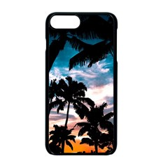 Palm Trees Summer Dream Apple Iphone 7 Plus Seamless Case (black)