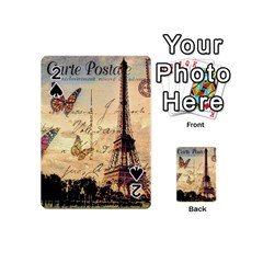 Vintage Paris Carte Postale Playing Cards 54 (mini)