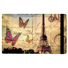 Vintage Paris Carte Postale Apple Ipad 3/4 Flip Case