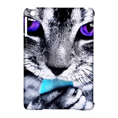Purple Eyes Cat Apple Ipad Mini Hardshell Case (compatible With Smart Cover)