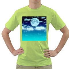 Dreamy Night Green T Shirt
