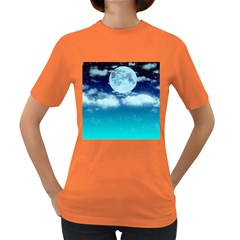 Dreamy Night Women s Dark T Shirt
