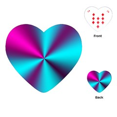 Silk Illusions Playing Cards (heart)