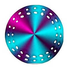 Silk Illusions Ornament (round Filigree)