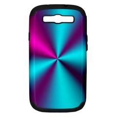 Silk Illusions Samsung Galaxy S Iii Hardshell Case (pc+silicone)