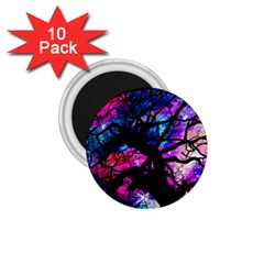 Star Field Tree 1 75  Magnets (10 Pack)
