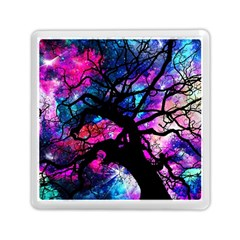 Star Field Tree Memory Card Reader (square)