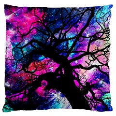 Star Field Tree Large Cushion Case (one Side)