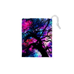 Star Field Tree Drawstring Pouches (xs)