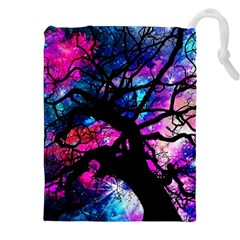 Star Field Tree Drawstring Pouches (xxl)