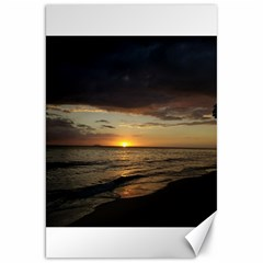 Sunset On Rincon Puerto Rico Canvas 20  X 30