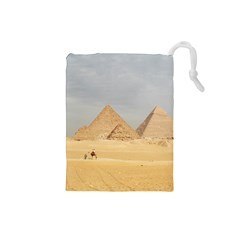 Giza Pyramids Drawstring Pouches (small)
