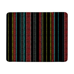 Multicolored Dark Stripes Pattern Samsung Galaxy Tab Pro 8 4  Flip Case