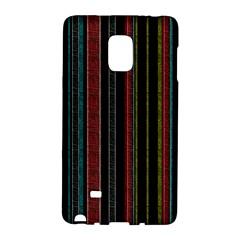 Multicolored Dark Stripes Pattern Galaxy Note Edge
