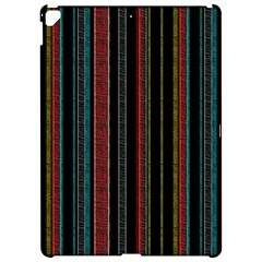 Multicolored Dark Stripes Pattern Apple Ipad Pro 12 9   Hardshell Case