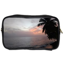 Sunset In Puerto Rico  Toiletries Bags 2 Side