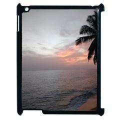 Sunset In Puerto Rico  Apple Ipad 2 Case (black)