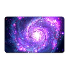 Ultra Violet Whirlpool Galaxy Magnet (rectangular)