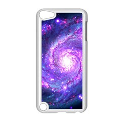 Ultra Violet Whirlpool Galaxy Apple Ipod Touch 5 Case (white)