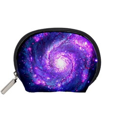 Ultra Violet Whirlpool Galaxy Accessory Pouches (small)