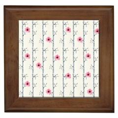 Minimalist Floral Framed Tiles