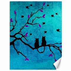 Lovecats Canvas 36  X 48