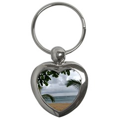 Through The Trees  Key Chains (heart)