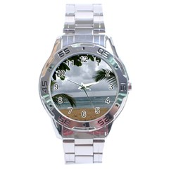 Through The Trees  Stainless Steel Analogue Watch