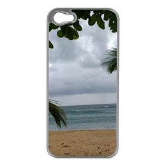 Through The Trees  Apple Iphone 5 Case (silver)