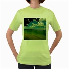 Isla Puerto Rico Women s Green T Shirt