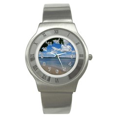 Isla Puerto Rico Stainless Steel Watch