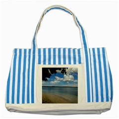 Isla Puerto Rico Striped Blue Tote Bag
